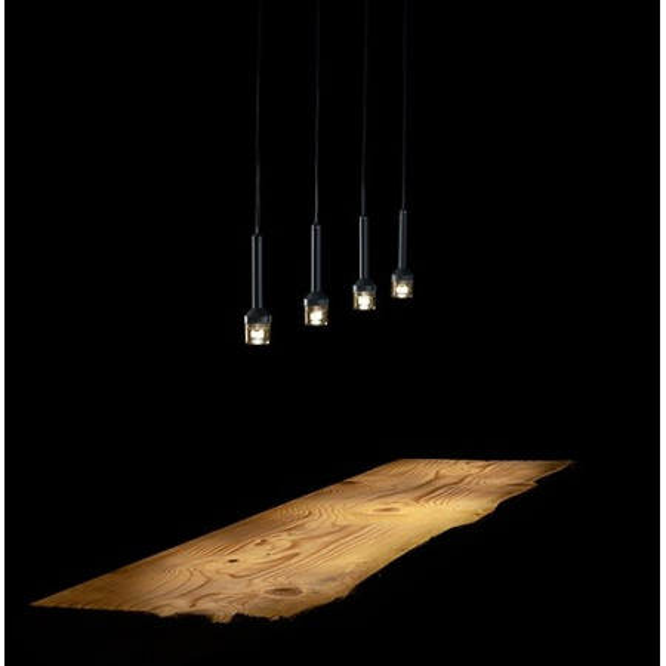 Lampe à suspension Torcetta 4 lumières Led 3W 3000K