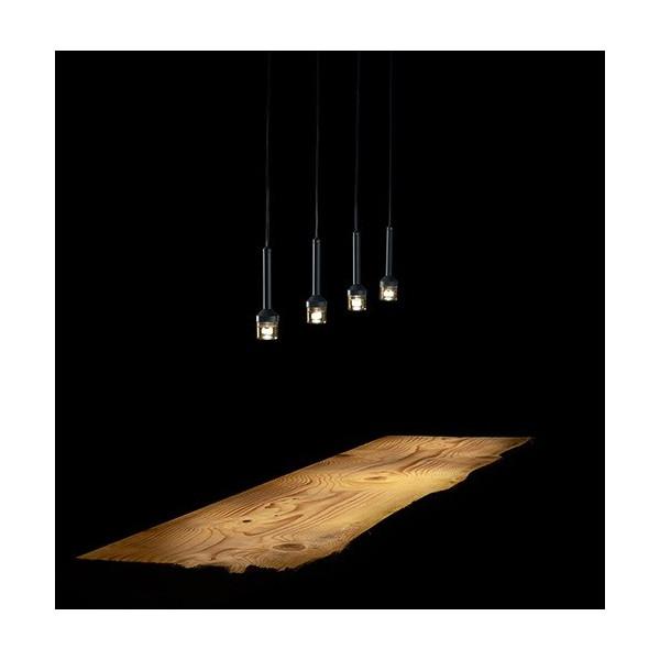 Torcetta 4 luci lampada a sospensione Led 3W 3000K
