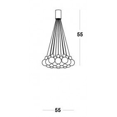 Vesoi , E19 55 / PL, Plafond