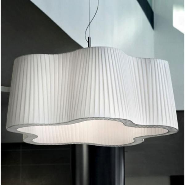 Havana SP 8/504 Lampe à suspension diffuseur en tissu 77W E27