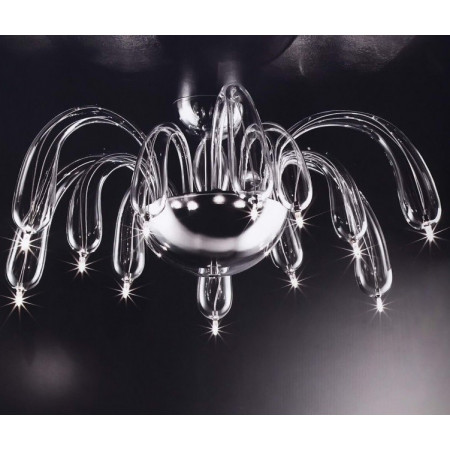 Redentor LS 5/254 Ceiling lamp in blown glass 14W G4
