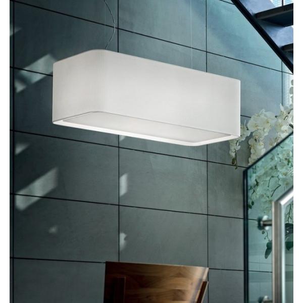 Seoul SP 8/501-L Lampe à suspension diffuseur en tissu 77W E27