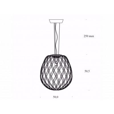 Lampe à suspension Pinecone diffuseur en