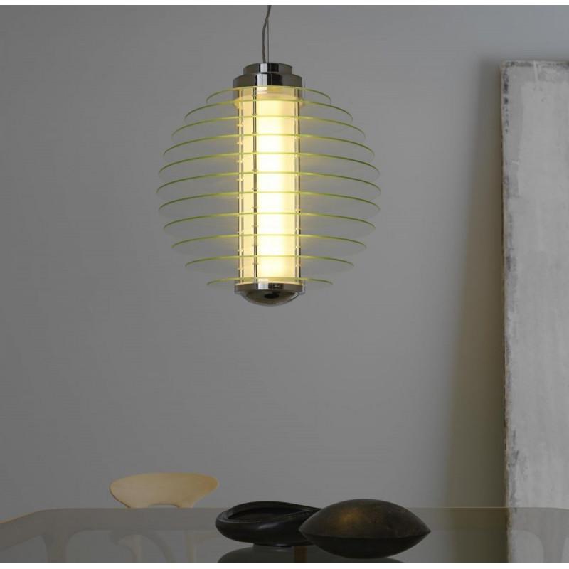Lampada a Sospensione Fontana Arte 0024 / Vellini