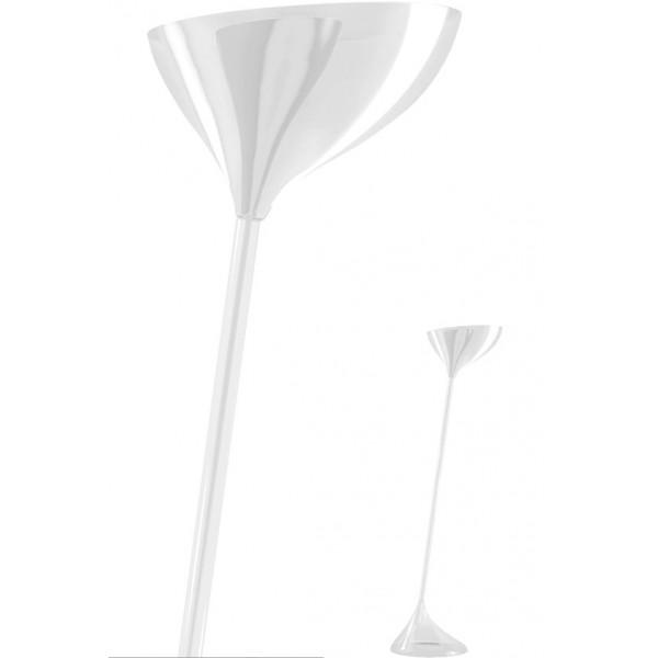 Floob lampada da terra in plexiglas 105W E27