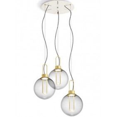Orb 3 luci lampada a...