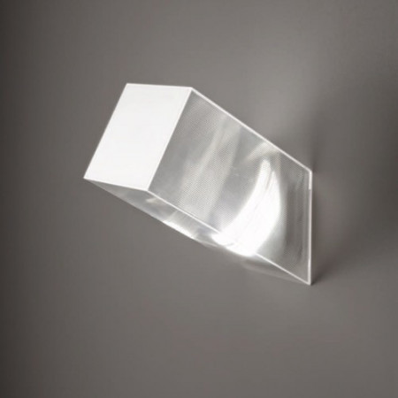 Beetle Medium 60° Cube Wall/Ceiling lamp polycarbonate diffuser Led 17W 3000K