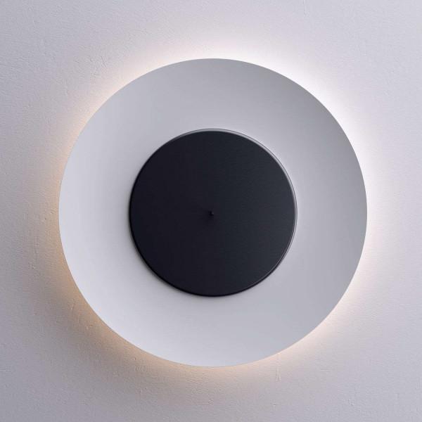 Lunaire lampada da parete/soffitto riflettore e disco frontale in alluminio 55W 2GX13