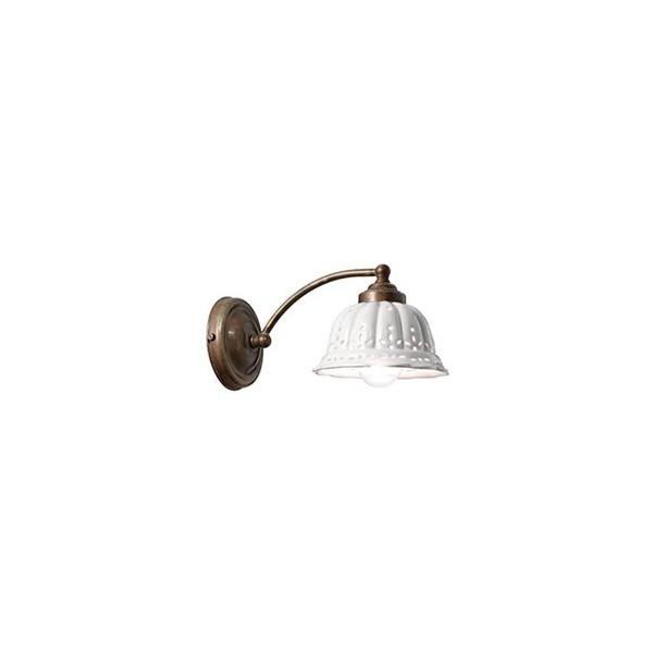 Anita curvo Wall lamp in ceramic 46W E14