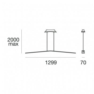 Lama 7106 lampe à suspension structure