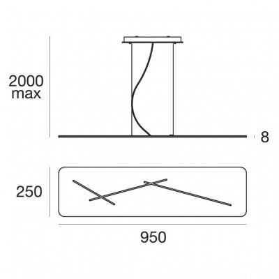 Next 7444 Structure de la lampe à