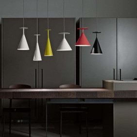 ABC B Suspension lamp in metal